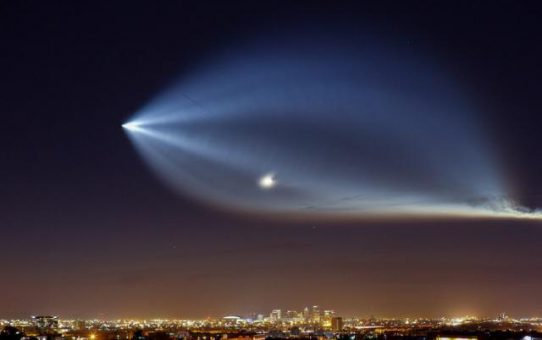 SpaceX Launches Rocket over So. Cal.