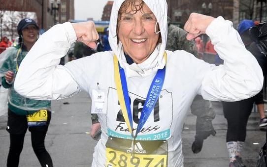 "A repost of my mom's Boston Marathon Experience - ""The Best Day of My Life"""